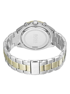 New Hugo Boss Men's Sport Intensity Two-Tone Gold Silver Watch HB1513667
