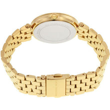 Michael Kors Ladies Mini Darci Gold Pink Watch MK3444