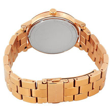 Ladies Michael Kors Norie Rose Gold Watch MK3561