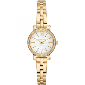 Michael Kors MK3833 Women's Petite Sofie Bracelet Watch - Gold