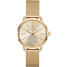 Michael Kors Ladies' Portia Gold-Tone Watch MK3844