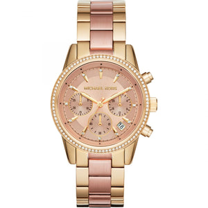 Michael Kors Ritz Two-Tone Watch MK6475