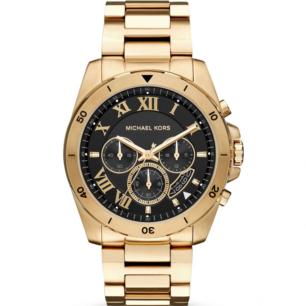 Michael Kors Brecken Black Dial Chronograph Men's Watch MK8481