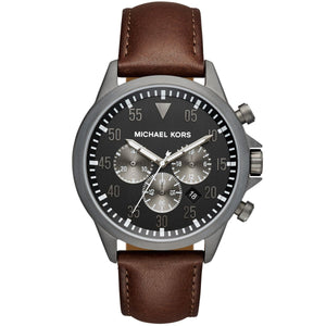 Michael Kors Gage Black Dial Men's Chronograph Watch MK8536
