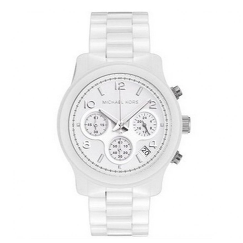 Michael Kors Ladies' Cerematic Chronograph Watch MK5161