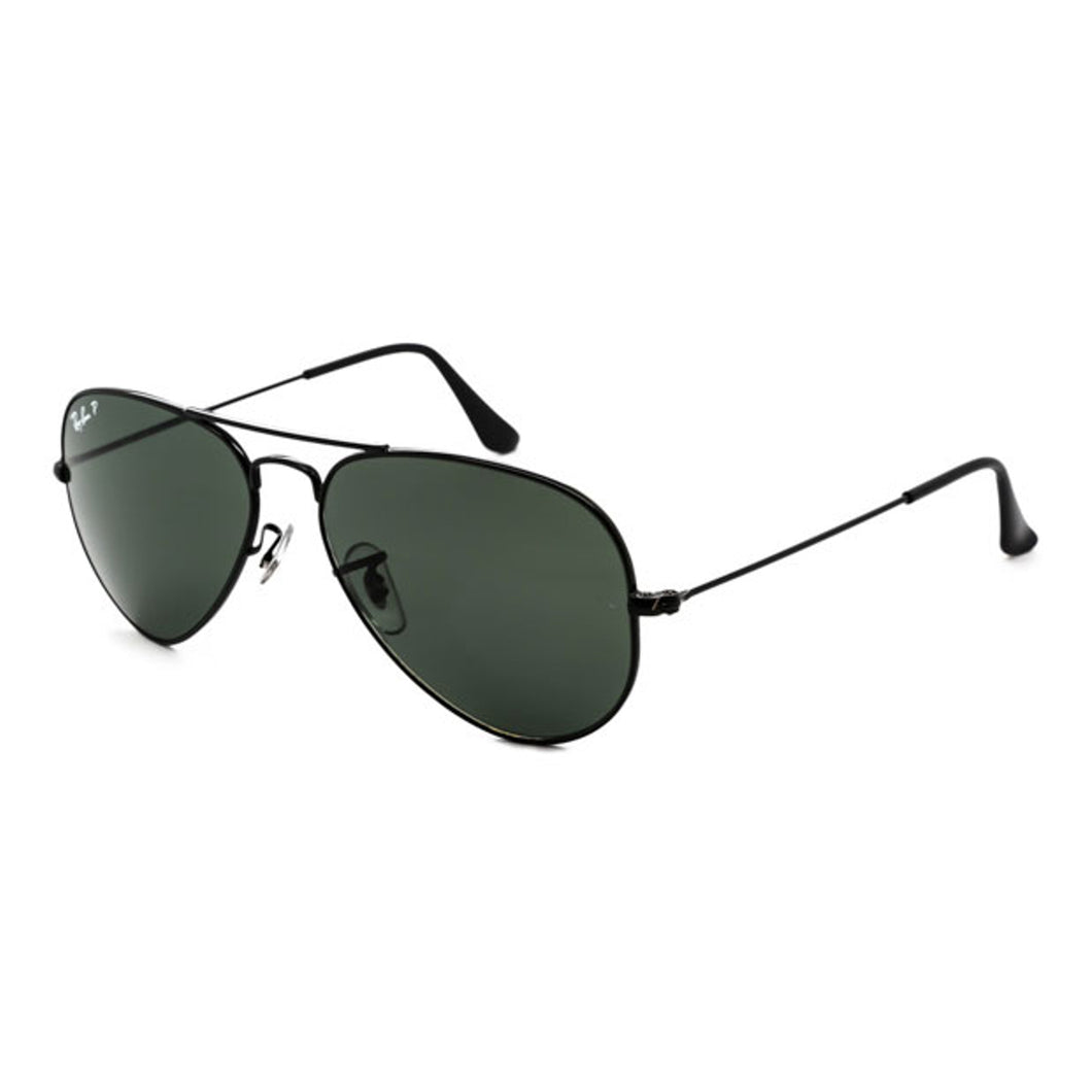 Ray-Ban Aviator Classic Green/Black RB3025 002/58 58-14
