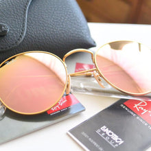 Ray-Ban Round Pink Mirror Lens RB3447 112/Z2