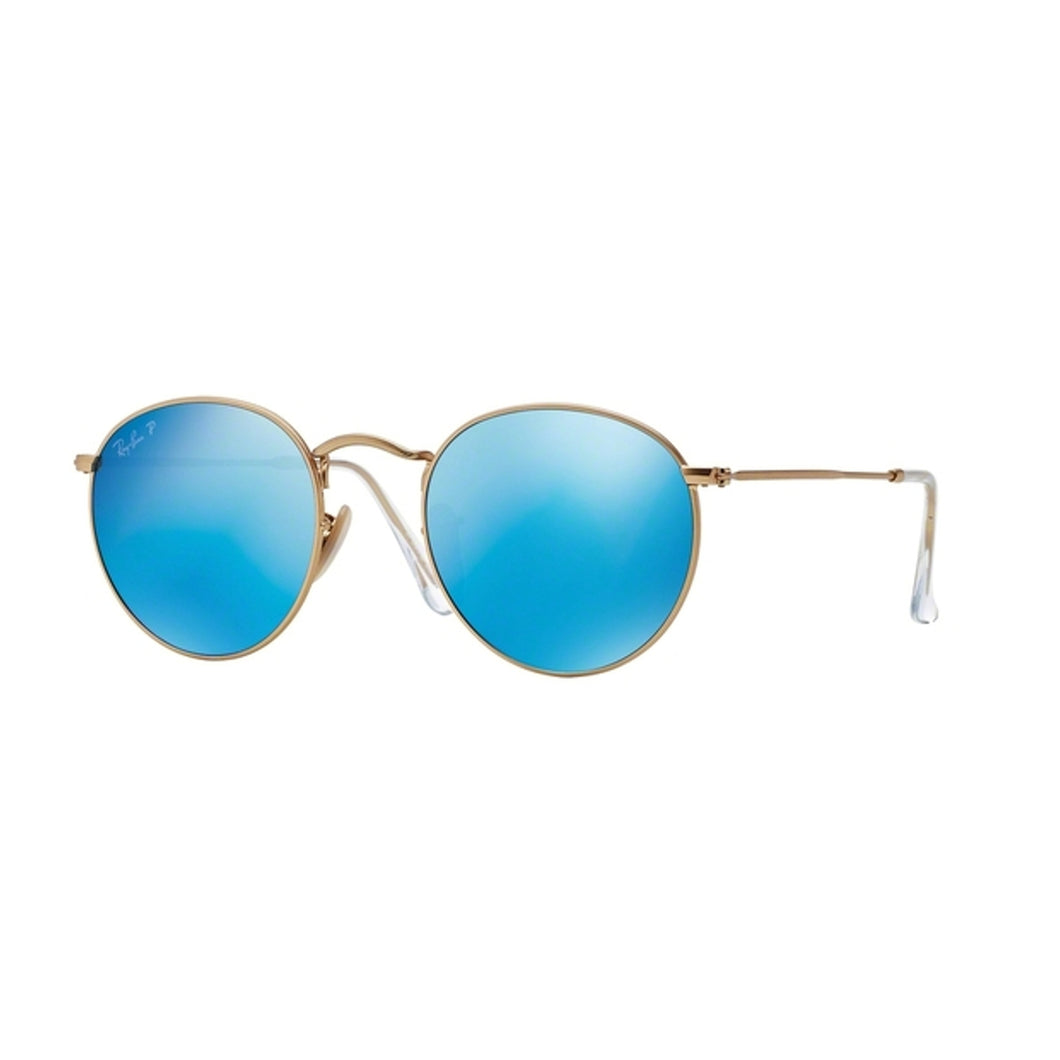 Ray-Ban Round Blue Lens RB3447 112/4L