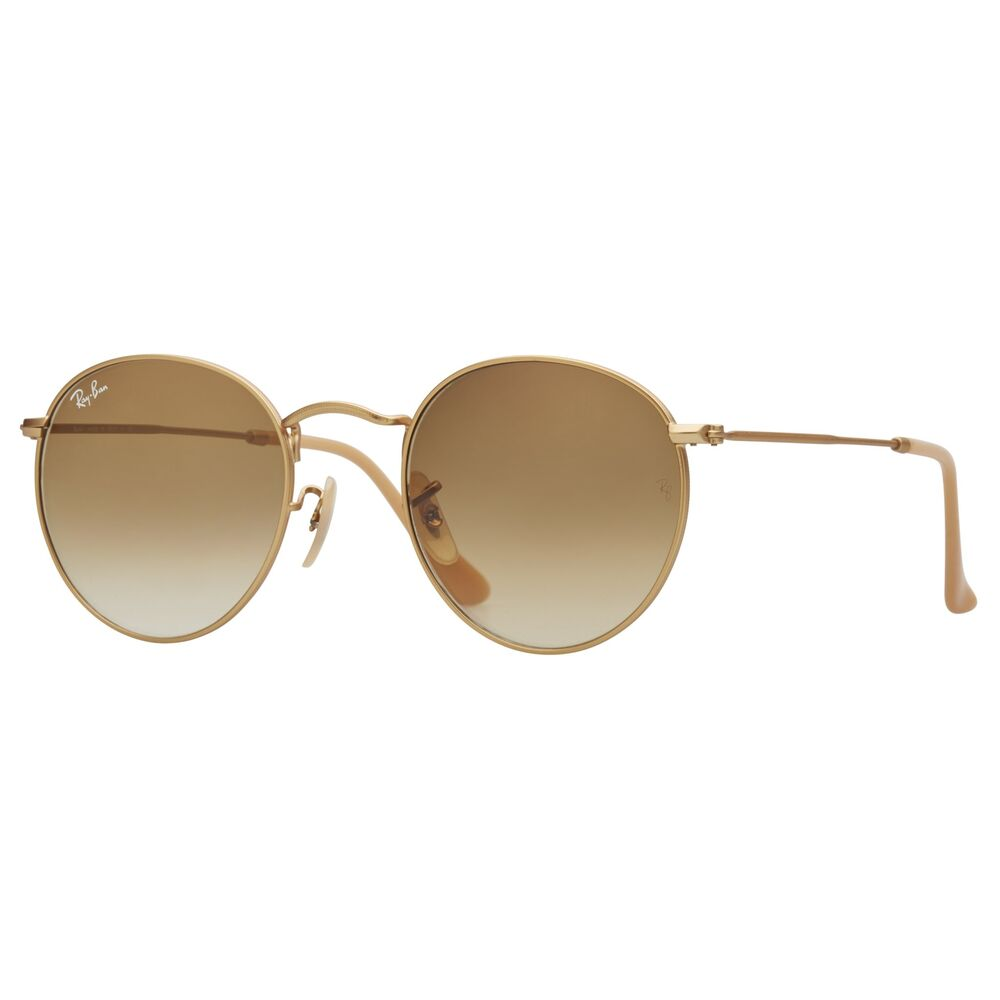 Ray-Ban Round Brown Gradient Lens RB3447 112/51