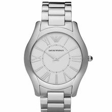 Emporio Armani Ladies Silver Slim Watch AR2056