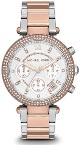 Michael Kors Ladies' Parker Chronograph Watch MK5820
