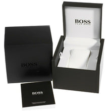 Hugo Boss Men's Talent Black Leather Strap Watch HB1513590