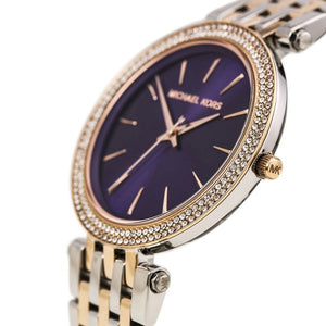 Ladies Michael Kors Purple Darci Watch MK3353
