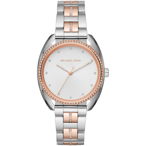 Ladies Michael Kors Libby Two Tone Watch MK3676