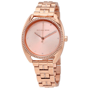 Ladies Michael Kors Libby Rose Gold Watch MK3677