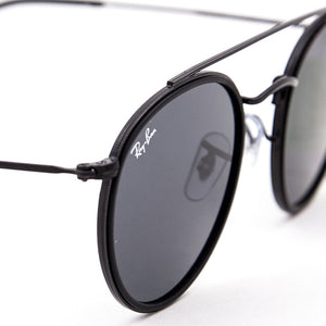 Brand New Ray-Ban Round Double Bridge Sunglasses - RB3647N 002/R5 - Unisex