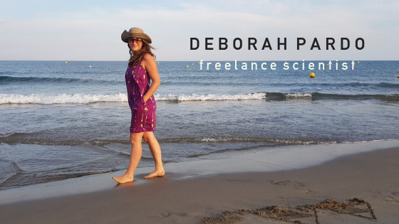 Deborah Pardo, freelance scientist :  doing it her way