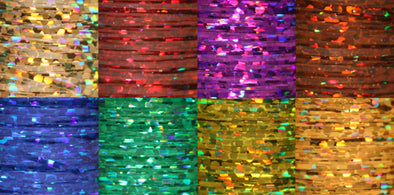 Ultra Holographic Tinsel - Medium 1/32