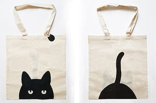 Design textile - Totebag chat