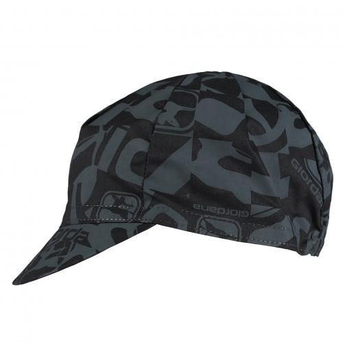 GIORDANA CAMO Cotton Cap - Black