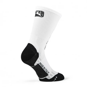 "FR-C Tall ""Giordana Logo"" Sock - White/Black"
