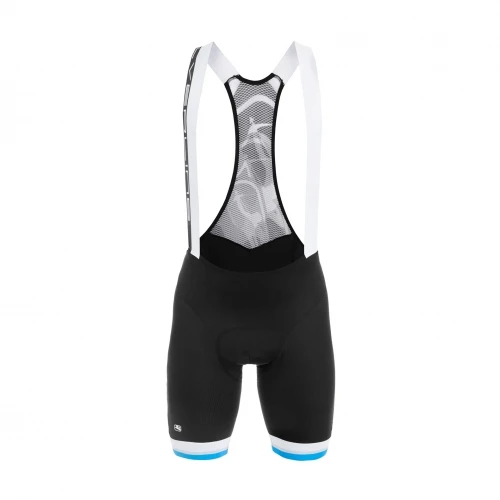 SILVERLINE BIB SHORTS - Black/Blue
