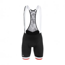SILVERLINE BIB SHORTS - Black/Red