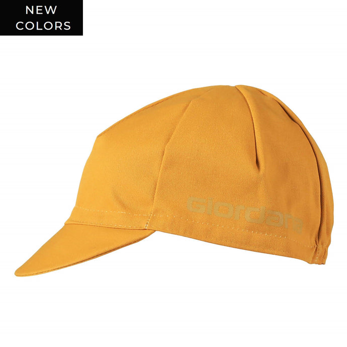Solid COTTON Cap - MUSTARD