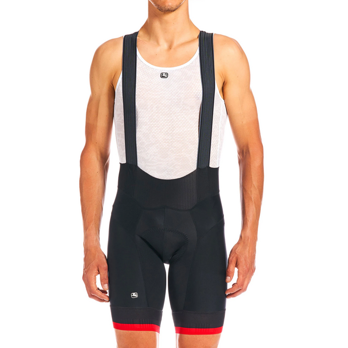 FR-C PRO BIB SHORTS -Black/Red