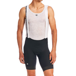 SILVERLINE BIB SHORTS - Black/Black
