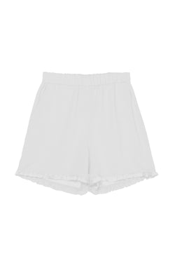 X short ruffle pants