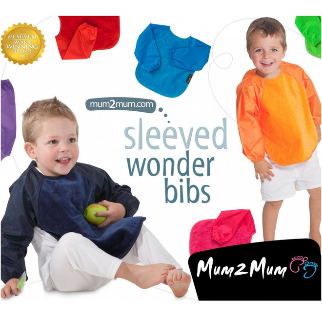 Long Sleeved Weaning Bibs