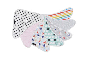 Bamboo Bandana Bib BUY 5 & SAVE