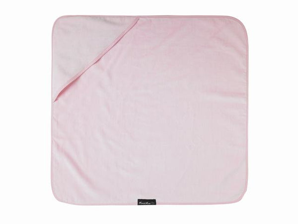 Hooded Towel Pink Flat