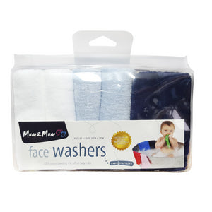 Facewashers Cloth Blue Boy Gift Pack