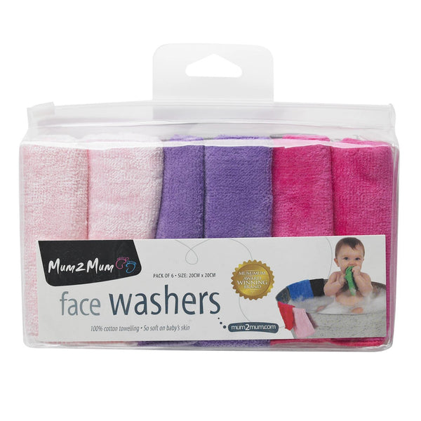 Facewashers Cloth Candy Pink Gift Packaging