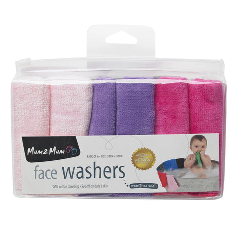 Mum 2 Mum Little Cotton Facewashers Candy