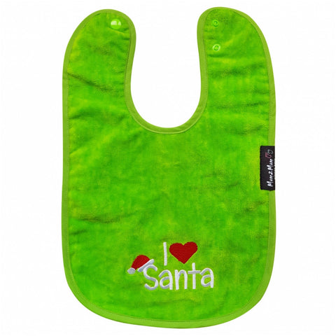 Christmas Mum 2 Mum Green Wonder Bib