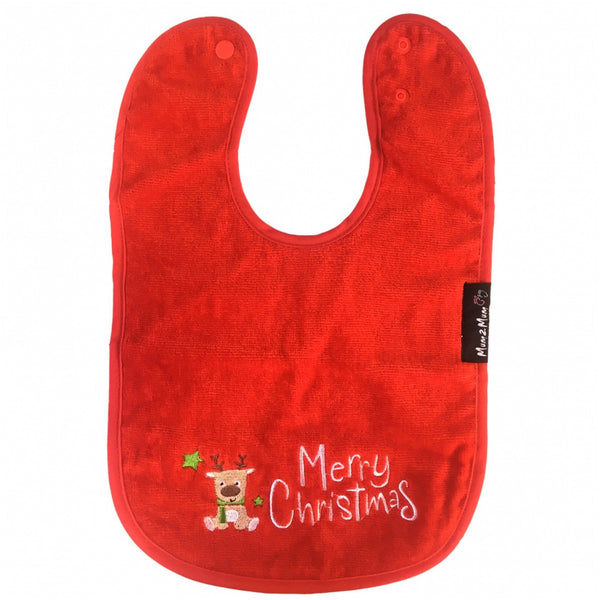 Christmas Mum 2 Mum Red Wonder Bib