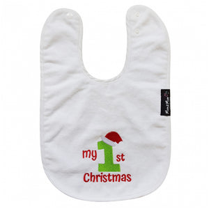 Christmas Mum 2 Mum White Wonder Bib