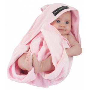 Hooded Towel Pink Insitu