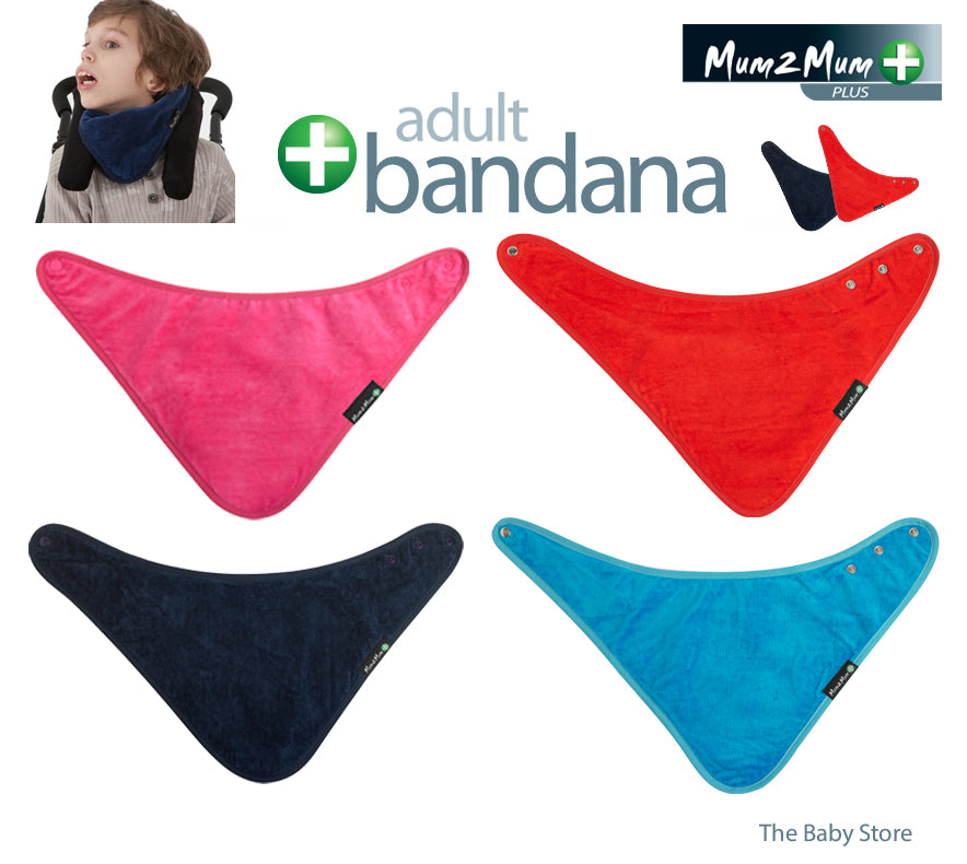 Bandana Adult Dribble Bib - BUY 2 & SAVE