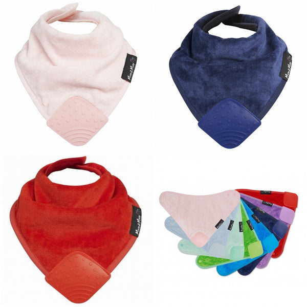 BUY 2 & Get 1 Half Price | Teething Bandana Wonder Bib 3 Pack