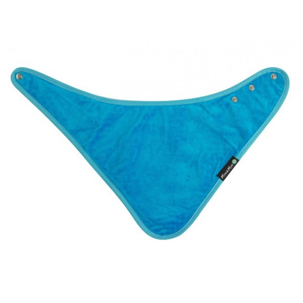 Adult Bandana Wonder Bib Teal Flat