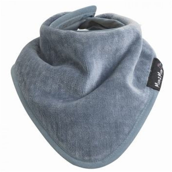 Bandana Wonder Bib Grey Worn