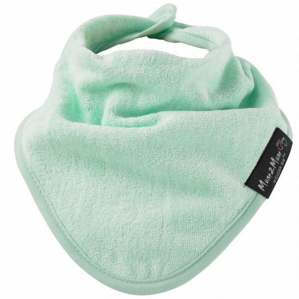 Bandana Wonder Bib Mint Green Worn