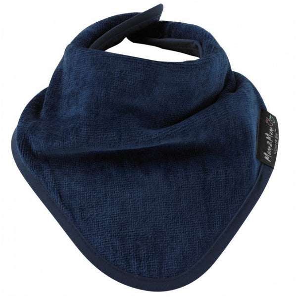 Bandana Wonder Bib Navy Blue Worn