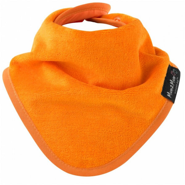 Bandana Wonder Bib Orange Worn
