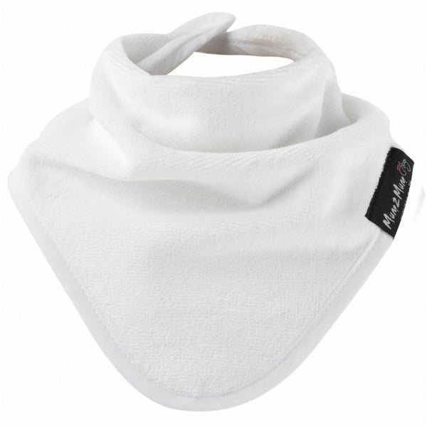 Bandana Wonder Bib White Worn