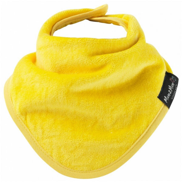 Bandana Wonder Bib Yellow Worn